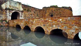 Porta Maggiore - The Great Gate and the Stone Bridge